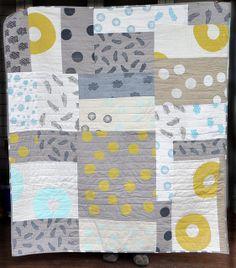 misprint improvisational quilt by leslie.keating, via Flickr