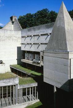 fondation le corbusier buildings couvent saintemarie de la tourette