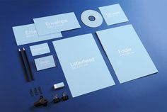 Download Corporate Identity Stationary Mockup PSD at DownloadMockup.com   Download Free Mockups