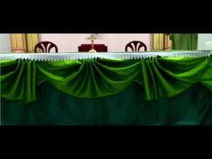 จับจีบผ้าลายสับปะรด ปวส ห้อง1/6 - YouTube Church Altar Decorations, Wedding Decorations, Table Decorations, Alter Decor, Church Flower Arrangements, Make A Table, Deco Table, Christmas Crafts For Kids, Wedding Table