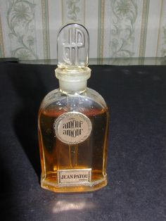 Amour Amour by Jean Patou (1924)  MUSE: Louise Brooks.  The couturier created this seductive fruity-floral perfume specifically for the brunette, a longtime fashion client and influence.