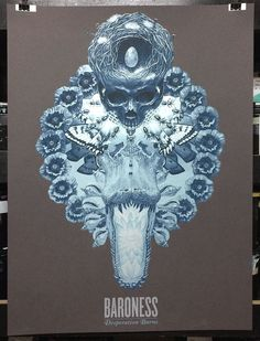 OMG Posters!  » Archive  Baroness Posters by Marald Van Haasteren