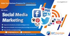 SKP outsources the social media marketing services which are the latest buzz word that increases the online presence of brands and companies thereby increasing their sales and targets. Social Media Marketing Companies, Marketing Technology, Online Marketing, Types Of Social Media, Social Media Channels, Pay Per Click Marketing, Marketing Techniques, Knowledge, Consciousness