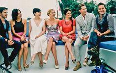 Once Upon A Time cast: Colin O'Donoghue, Lana Parrilla, Ginnifer Goodwin, Jennifer Morrison, Emilie de Ravin, Josh Dalla, Michael Raymond-James
