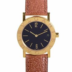 Bvlgari Not Available quartz womens Watch BB30GLD Certified Preowned *** Want additional info? Click on the image. (Note:Amazon affiliate link)