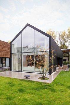 Contemporary Barn House Plans - 16 Contemporary Barn House Plans, Modern Barn Design In Netherlands by Jagerjanssen Architects Modern Barn House, Barn House Plans, Contemporary Barn, Contemporary House Plans, House Extension Design, A Frame House, Tudor House, Tiny House Cabin, Street House