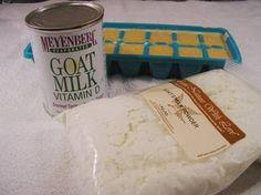 making goat's milk soap