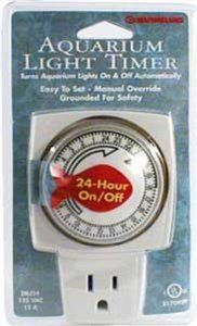 Marineland PA0401 Aqua-Timer with 24-hr Cycle, Grounded: Aquarium Heaters & Lights