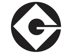 Gru Logo - 1 - Vinyl Decal (for minion costume)