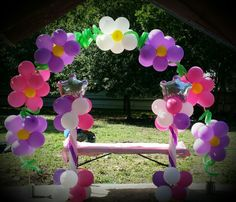 Flower Arch by Veronica