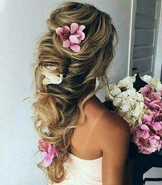 braids, bride, fashion, flower, girls