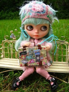IMG_8101...Opal is waiting for her ride to the airport! by Lindy Dolldreams, via Flickr