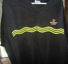 c11e56f4 Bacardi Limon T Shirt Size XL #Bacardi Bacardi, Cheer Skirts, Bacardi  Cocktail