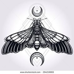 stock-vector-butterfly-moth-with-crescent-moons-sacred-geometry-elegant-design-tattoo-art-isolated-vector-294219869.jpg 450×450 pixels