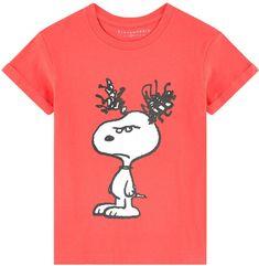 Little Eleven Paris Printed T-shirt Snoopy Eleven Paris, Kids Fashion Boy, Girl Fashion, Snoopy Pajamas, Paris T Shirt, Tween, Peanuts Gang, Knitting, Children