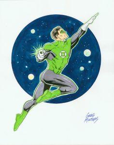 Green Lantern - Greg Moutafis