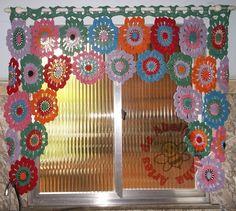 cortina de croche - Pesquisa Google