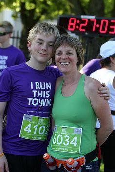 Andrew and Catherine Marathon Photo, Atlantic Canada, Running, Blue, Keep Running, Why I Run