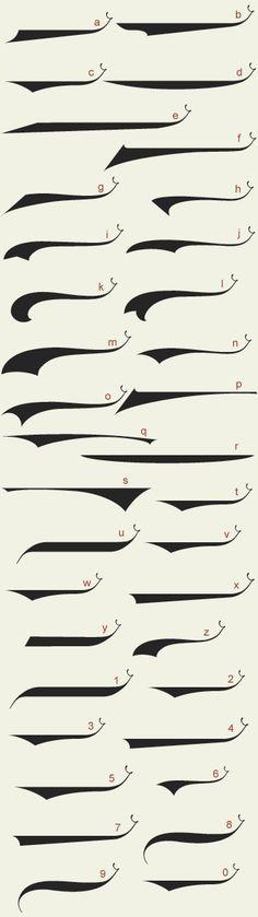 Script - Calligraphy