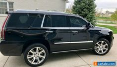 Car for Sale: 2016 Cadillac Escalade S Performance Pack, Premium Pack Cadillac Escalade, Escalade Esv, Suv Models, Cargo Net, Roof Rails, Information Center, Luggage Rack, Dinghy, Black Accents