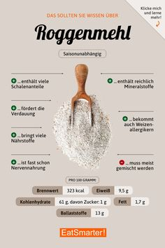 Rye Infographics Nutrition and Food - # Nutrition . - Rye Infographics Nutrition and food – - Toast Foie Gras, Rye Flour, Food Facts, Nutrition Information, Nutrition Articles, Calorie Diet, Best Diets, Health And Nutrition, Quinoa Nutrition