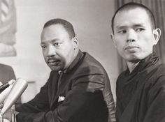 Martin Luther King and Thich Nhat Hanh
