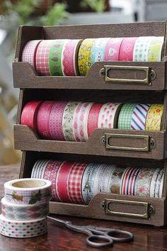 Vamos a ordenar los washi tapes!!