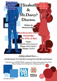 SATURDAY NIGHT: Griese Youth Theatre presents Elizabeth and Mr Darcy? Discuss