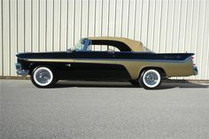 1956 DeSoto Adventurer Convertible Chrysler Usa, Dodge Chrysler, Cool Old Cars, Nice Cars, 1954 Chevy Bel Air, Convertible, Vintage Cars, Antique Cars, Desoto Cars