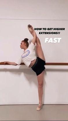 Ballerina Workout, Dancer Workout, Dance Workout Videos, Flexibility Dance, Flexibility Workout, Flexibility Stretches, Gymnastics Skills, Gymnastics Workout, Dance Stretches