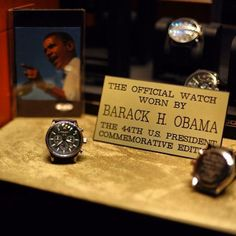 Did you know that Barack Obama wears the Jorg Gray 6500?
