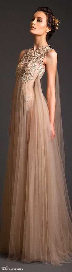 Krikor Jabotian Couture S/S 2014...GORGEOUS!!!! I am loving his collection so much!!!!!!