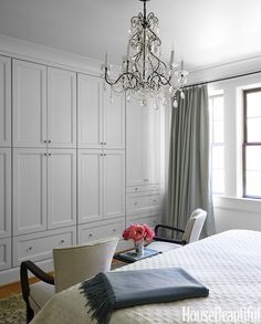 Wall storage for bedroom