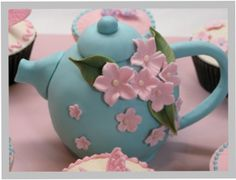 teapot cake - I think I can do this one too