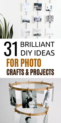 Looking for DIY crafts for photos? Here are photo craft ideas that you will love. Make cheap DIY crafts for your photos. Easy Crafts For Kids, Diy Home Crafts, Diy Craft Projects, Fun Crafts, Craft Ideas, Photo Bookmarks, Photo Keyrings, Photo Magnets, Diy Photo
