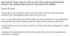 Dead tablets that occupy space = loss. #Design #branding #marketing #boutiques #australia #singapore #japan #usa #china #dubai #india