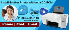 For a new printer everything you need to install the printer's driver on your computer, not everyone can use the CD-ROM for installation. Today many computer models don't have a CD-ROM drive to run a CD drive. Dial Brother printer support number +1-800-462-5143 to get help from certified technicians to install brother printer.