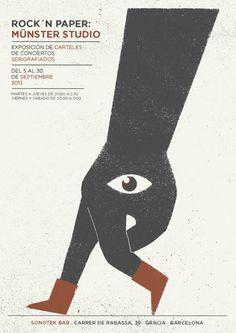 Posters 2013 by Münster Studio, via Behance