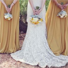 This is such a fun shot! Great way to show off both the bouquet and the back of the dress