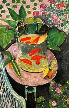 Goldfish in Painting - Goldfish, Henry Matisse