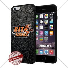 """NCAA RIT Tigers Cool iPhone 6 Plus (6+ , 5.5"""") Smartphone Case Cover Collector iphone TPU Rubber Case Black SHUMMA http://www.amazon.com/dp/B013Z6MS9G/ref=cm_sw_r_pi_dp_vPlswb0GXV46C"""