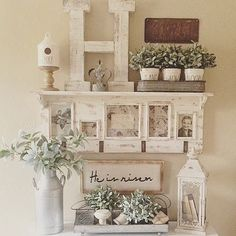 20 Best & Stunning Farmhouse Kitchen Design Ideas for Your Unique Kitchen – Haus Dekoration Shabby Chic Decor, Rustic Decor, Vintage Decor, Vintage Buffet, Rustic Farmhouse Decor, Style Vintage, Image Deco, Diy Décoration, Farmhouse Chic