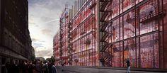 ARCHmedium design competition, Berlin University Residence