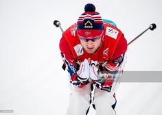 Peter Northug of Norway during training at World Championships Cross Country on February 2015 in Falun, Sweden. World Championship, Cross Country, Norway, Motorcycle Jacket, Train, Image, Women, Fashion, Moda