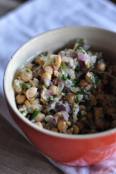 Smooshed Chickpea Salad