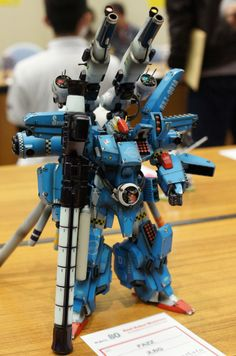 GUNDAM GUY: 1/100 Fazz Gundam - Custom Build