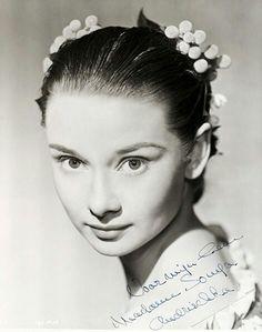 Publicity still - Audrey Hepburn Secret People 1951.