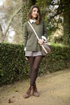 Yes - 18 Lovely Woman's Outfits with Tights