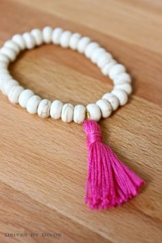 DIY+beaded+tassel+bracelet+make+600+WM.jpg (600×900)