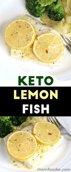 Keto-friendly and great for Lent! The post Lemon Baked Cod Recipe easy low carb fish dinner. Keto-friendly and great for appeared first on Keto Recipes. Cod Recipe Lemon, Lemon Baked Cod, Low Carb Recipes, Diet Recipes, Cooking Recipes, Healthy Recipes, Fish Recipes Low Sodium, Recipes Dinner, Fish Dinner